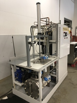 vacuum solvent cleaning machine